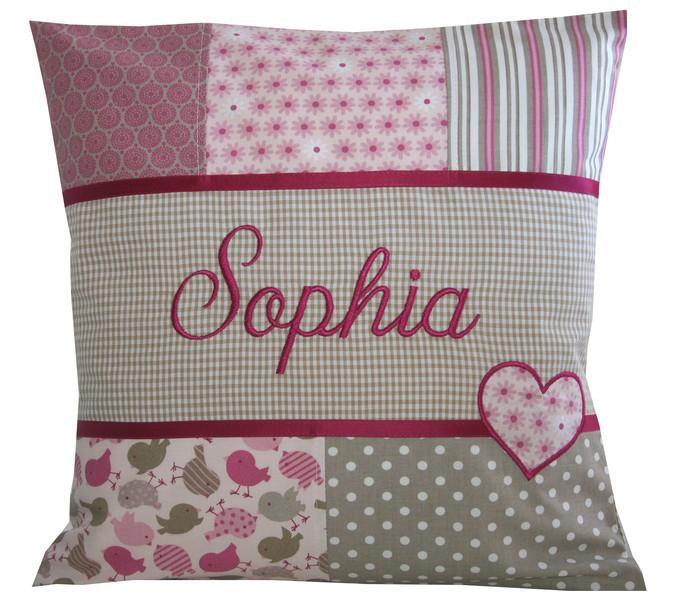 namenskissen sophia babygeschenke. Black Bedroom Furniture Sets. Home Design Ideas