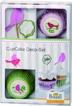 Cupcake Deko Set Vogel